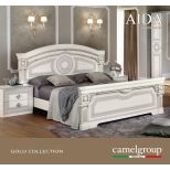 ✅ Aida Classic King Bed by ESF, White and Silver | VivaSalotti.com | pic