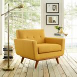 ✅ Engage Upholstered Fabric Armchair (Citrus) | VivaSalotti.com | pic