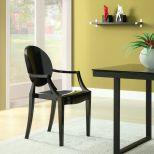 ✅ Casper Dining Armchair (Black)   VivaSalotti.com   pic4