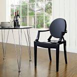 ✅ Casper Dining Armchair (Black)   VivaSalotti.com   pic