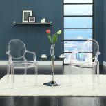 ✅ Casper Dining Armchair (Clear) | VivaSalotti.com | pic4