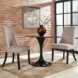 ✅ Reverie Dining Side Chair Set of 2 (Beige)   VivaSalotti.com   pic