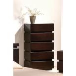 ✅ Knotch Modern Wood Veneer Platform Bedroom Set, Expresso   VivaSalotti.com   pic2