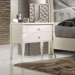 ✅ Valeria Premium Soft-Closing Wood Nightstand, Natural Oak Veneer   VivaSalotti.com   pic6