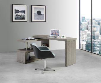 ✅ A33 Office Desk in Matte Grey | VivaSalotti.com | pic