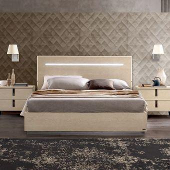 ✅ Ambra Legno Queen Size Bed by ESF | VivaSalotti.com | pic