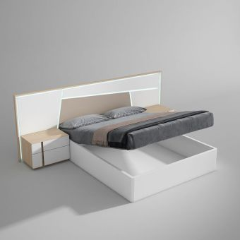 ✅ Anna King Size Bed with Storage by ESF | VivaSalotti.com | pic2