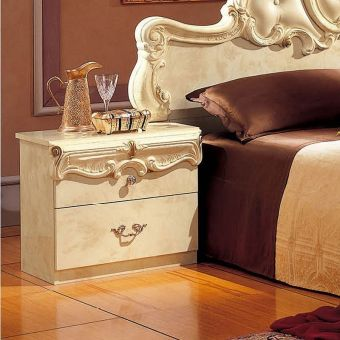 ✅ Barocco Nightstand Ivory by ESF | VivaSalotti.com | pic3
