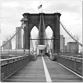 ✅ Wall Art Brooklyn Bridge Flag | VivaSalotti.com | pic1