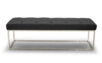 ✅ Chelsea Luyx Bench in Black | VivaSalotti.com | pic