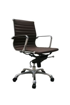 ✅ Comfy Low Back Brown Office Chair   VivaSalotti.com   pic2