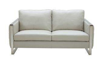 ✅ Constantin Love Seat in Light Grey | VivaSalotti.com | pic3