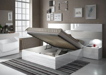 ✅ Cordoba Queen Size Bed with Storage by ESF | VivaSalotti.com | pic1