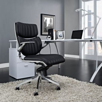 Escape Mid Back Office Chair (Black)