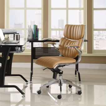 Escape Mid Back Office Chair (Tan)