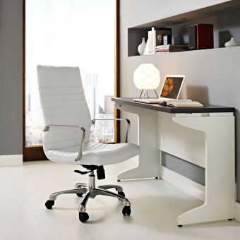 Finesse Highback Office Chair (White)