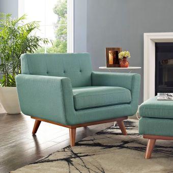 Engage Upholstered Fabric Armchair (Laguna)