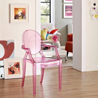 Casper Dining Armchair (Pink)