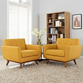 Engage Armchair Wood Set of 2 (Citrus)