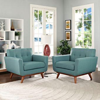 Engage Armchair Wood Set of 2 (Laguna)