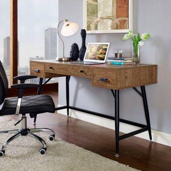 Surplus Office Desk (Walnut)