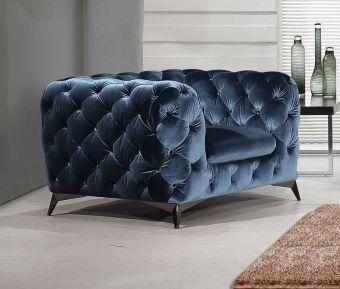 ✅ Glitz Chair in Blue | VivaSalotti.com | pic5