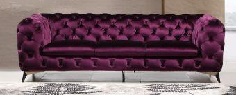 ✅ Glitz Sofa in Purple | VivaSalotti.com | pic