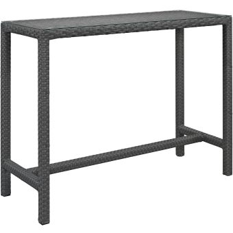✅ Sojourn Large Outdoor Patio Bar Table   VivaSalotti.com   pic