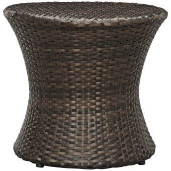 ✅ Stage Round Outdoor Patio Side Table | VivaSalotti.com | pic