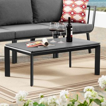 ✅ Riverside Aluminum Outdoor Patio Coffee Table   VivaSalotti.com   pic