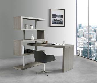 ✅ KD002 Office Desk in Matte Grey | VivaSalotti.com | pic