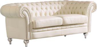 ✅ 287 Tufted Cream Sofa by ESF | VivaSalotti.com | pic