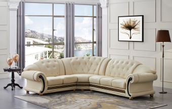 ✅ Apolo Sectional Ivory Left by ESF   VivaSalotti.com   pic7
