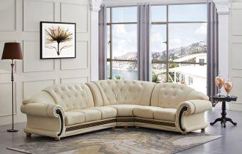 ✅ Apolo Sectional Ivory Right by ESF   VivaSalotti.com   pic7