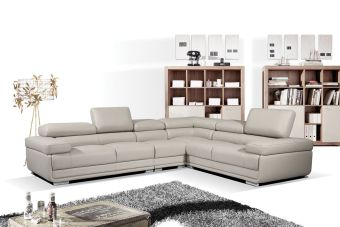 ✅ 2119 Right Sectional Light Grey by ESF | VivaSalotti.com | pic3