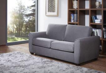 ✅ Mono Sofa Bed in Grey Fabric | VivaSalotti.com | pic1