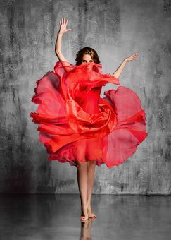 ✅ Wall Art Red Dancer | VivaSalotti.com | pic1