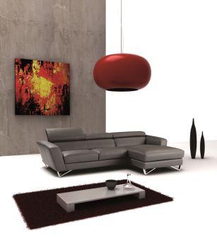 ✅ Sparta Mini Right Hand Facing Chaise in Grey | VivaSalotti.com | pic2