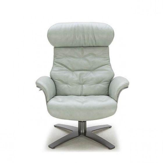 ✅ Karma Italian Leather Premium Chair, Mint Green | VivaSalotti.com | pic