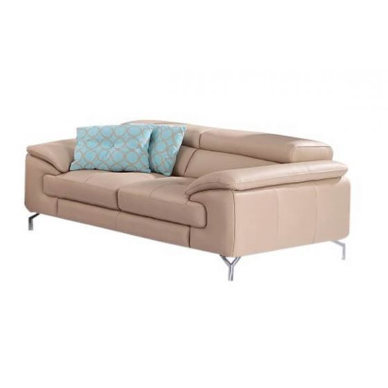✅ A973 Premium Leather Loveseat, Peanut | VivaSalotti.com | pic