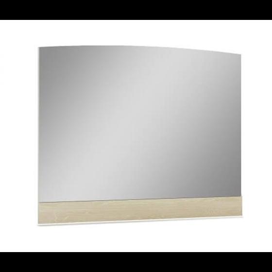 ✅ Chiara Wood Veneer Buffet Mirror, Light Walnut   VivaSalotti.com   pic1