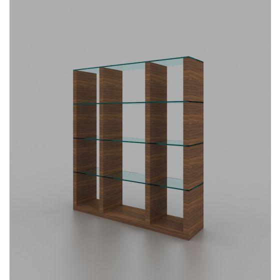 ✅ Elm Modern Wall Unit, Walnut   VivaSalotti.com   pic2