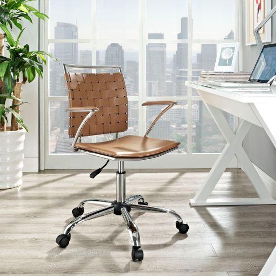 ✅ Fuse Office Chair (Tan) | VivaSalotti.com | pic