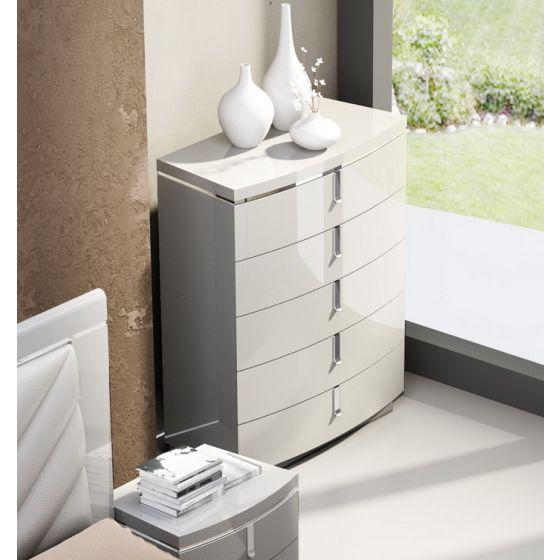 ✅ New York Modern Chest, Grey | VivaSalotti.com | pic1