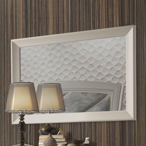 ✅ Valeria Premium Mirror, Natural Oak Veneer | VivaSalotti.com | pic